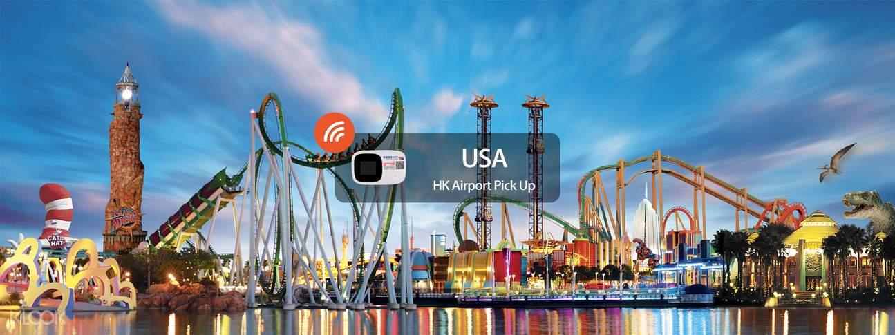 4G WiFi (hong kong) for the USA
